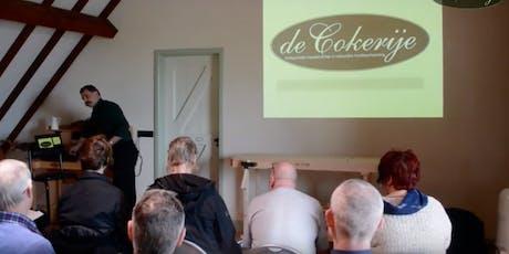Presentatie Cokerije Houtolie 14 december 2019 tickets