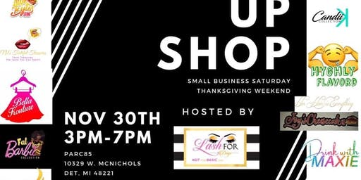 Small Business Saturday Pop Up Shop