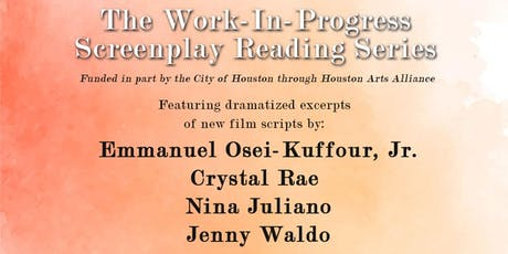The Work-In-Progress Screenplay Reading Series tickets