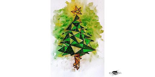 "PAINTOMANIA malt ""Magic Christmastree"" in Hannover"