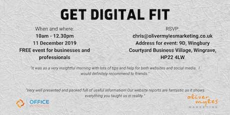 Get Digital Fit in December tickets