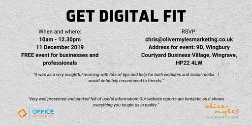 Get Digital Fit in December
