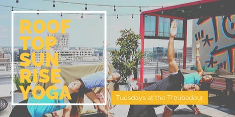 Rooftop Sunrise Yoga at the Troubadour  tickets
