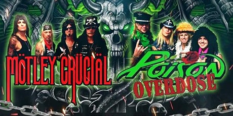 Motley Crucial & Poison Overdose Return to Pops Saloon with Hairicane tickets