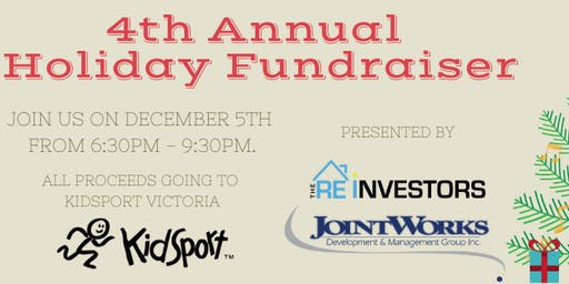 The REINVESTORS 4th Annual Holiday Fundraiser Mixer for KidSport