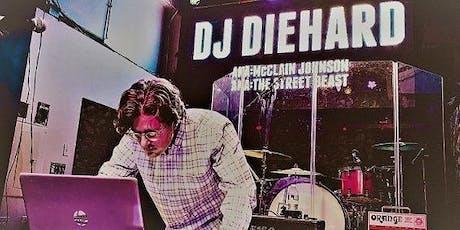 Turntables & Tales with DJ Diehard tickets