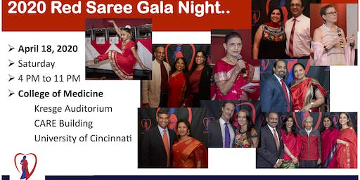 2020 Red Saree Gala Night @ UC College of Medicine