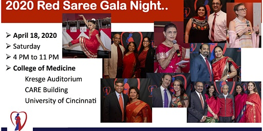 2020 Red Saree Gala Night @ UC College of Medicine