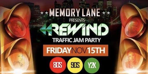 Memory Lane Traffic Jam GLOW Party