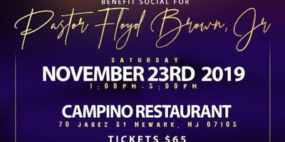 Benefit Social for Pastor Floyd Brown, Jr.