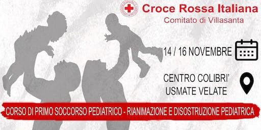 Corso di Primo Soccorso Pediatrico + Rianimazione Pediatrica