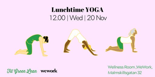 Lunchtime Yoga   Fit Green Lean @WeWork