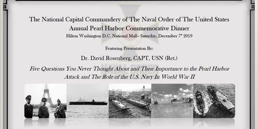 Annual Pearl Harbor Commemorative Dinner