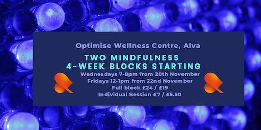 Mindfulness 4-Week Block - Alva