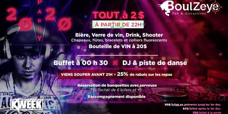 Party Staff et Amis du 31dec! tickets