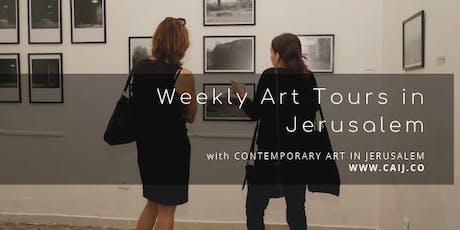 Gallery Hop in Jerusalem - November 2019 tickets