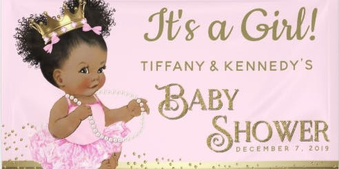 Tiffany & Kennedy Achille Baby Shower
