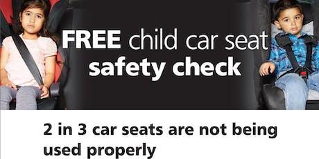 Child carseat checks Seven Hills Dec 2019 tickets