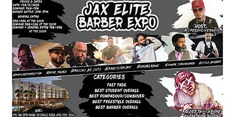 Jacksonville Elite Barber Expo tickets
