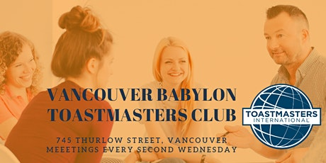 Vancouver Babylon Toastmasters Club tickets