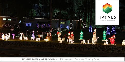 Haynes Holiday Lights Extravaganza