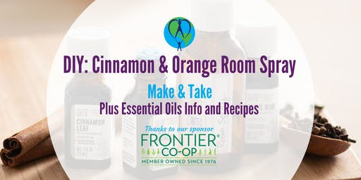 DIY: Essential Oil Blends *Supplies from Frontier Co-op*