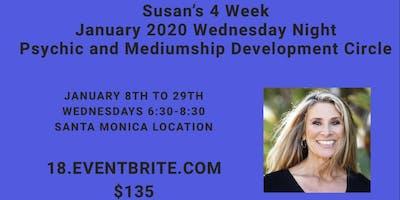 Susan's Psychic and Mediumship (Intermediate) Development Circle (Wednesdays, Jan. 8th to 29th