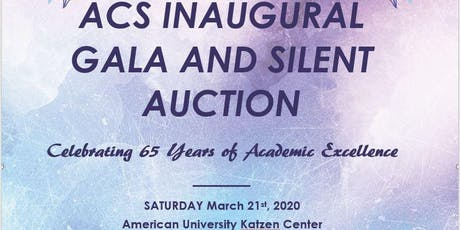 Gala and Silent Auction--Celebrating 65 Years of Academic Excellence tickets