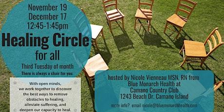 December Open Healing Circle tickets