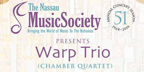 "Warp Trio : ""BLACK VOICES"" tickets"