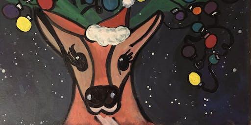 Pour & Paint Reindeer