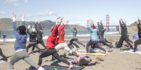 Saturday Beach Yoga with Julie! tickets