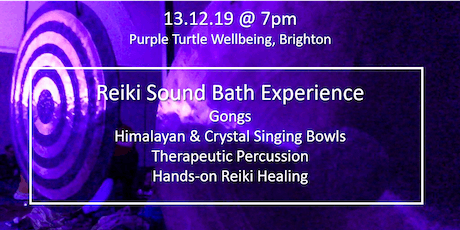 FULL MOON REIKI SOUND BATH - DECEMBER tickets