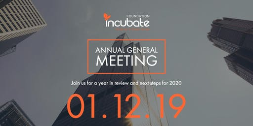 Incubate Foundation Annual General Meeting