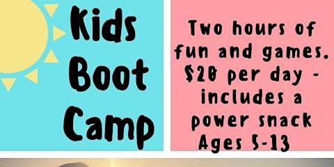 Be Farm Fit kids BOOTCAMP