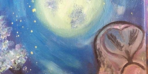 Pour & Paint Fantasy Owl