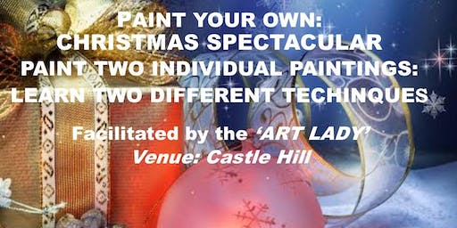 'PAINT YOUR OWN: CHRISTMAS SPECTACULAR' with a difference
