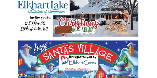 Santa's Village, offered by ElkhartCares, at 2019 Christmas in the Square