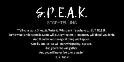 SPEAK Storytelling: STRENGTH with Katie Mann