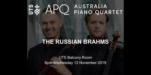Australia Piano Quartet - THE RUSSIAN BRAHMS
