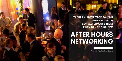 After Hours Networking at Mare Rooftop