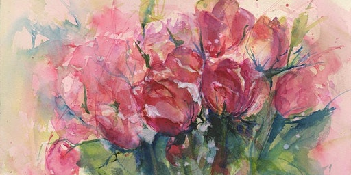 Painting Loose Flowers in Watercolour with Vandy Massey