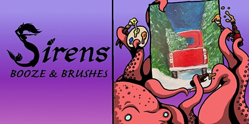 Sirens Booze & Brushes December