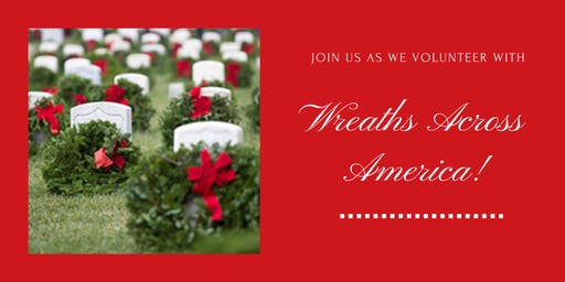 JYR December Community Service: Wreaths Across America!
