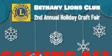 Bethany Lions Holiday Craft Fair tickets