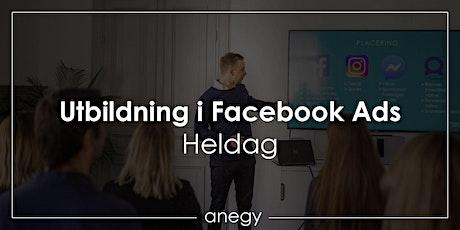 Facebook Ads - Grundkurs biljetter