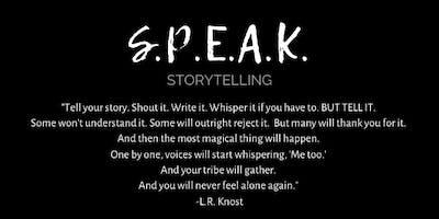 SPEAK Storytelling: KNOWING with Samantha Gardner