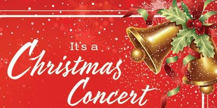 It's A Christmas Concert:  O' Come Let Us Adore Him!!!