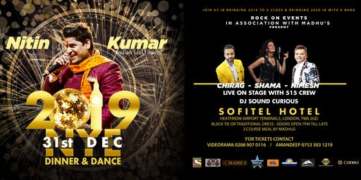 NYE19 - Bollywood New Year's Eve Dinner and Dance at Hotel Sofitel London