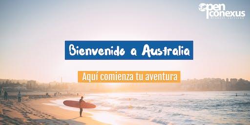 Bienvenido a Australia - MELBOURNE Sesión de información en Open Conexus